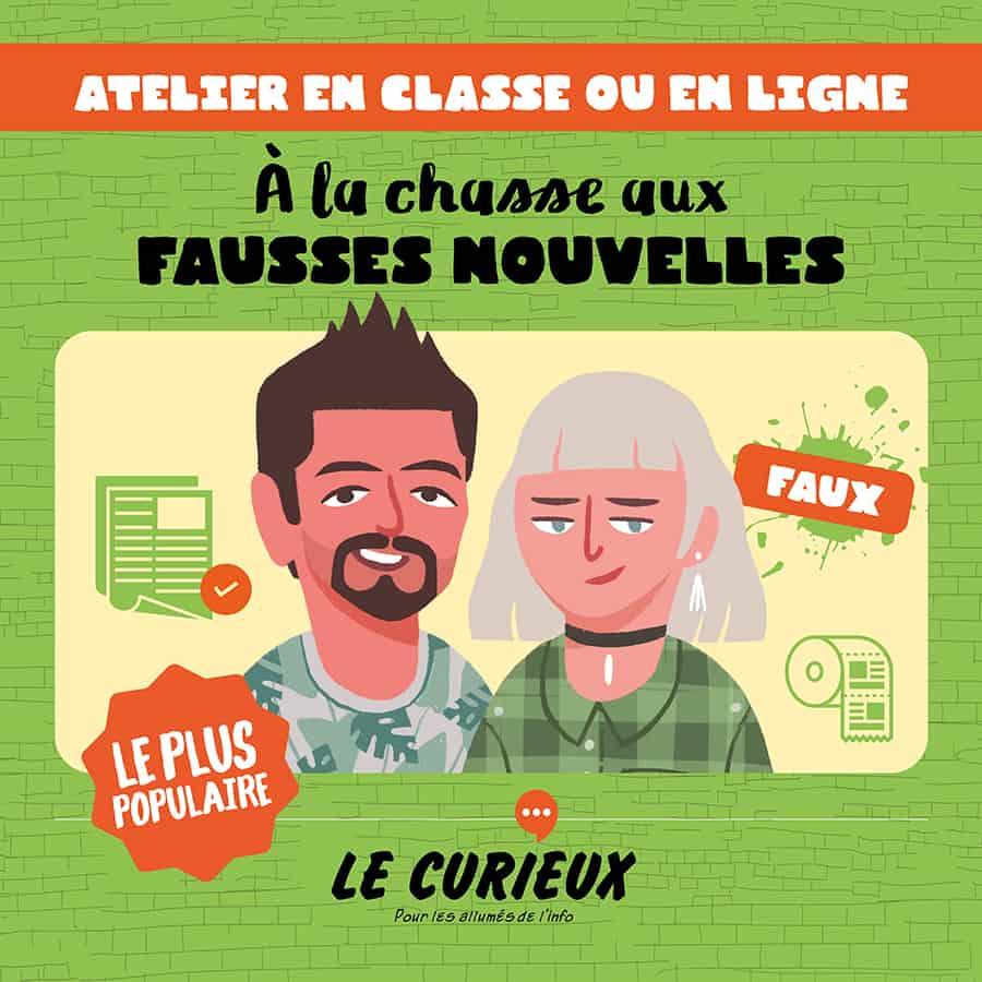 LC Atelier Fausses nouvelles - À la chasse aux fake news
